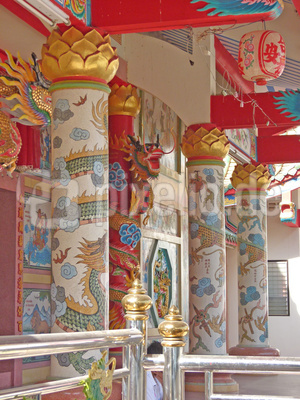 Wat Rong Ngiw Kalasin, Thailand