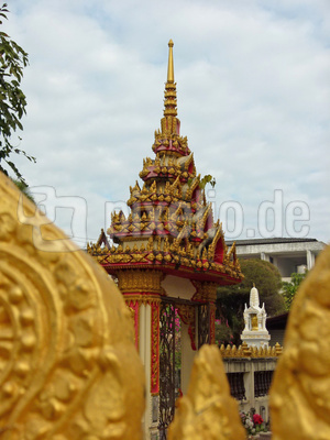 """""""Wat Tai Pho Kham"""" Kalasin Thailand"""