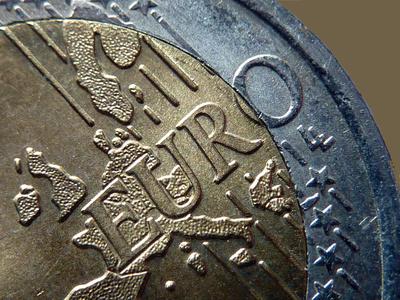 Euro-Schriftzug