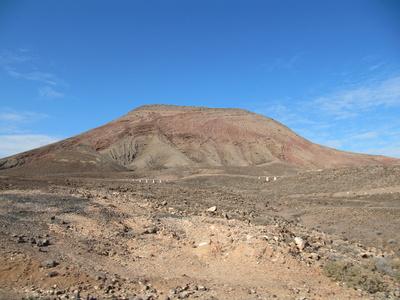 Montana Roja auf Fuerteventura