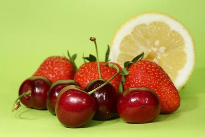 Kirsch, Erdbeer & Zitrone I