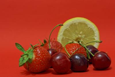 Kirsch, Erdbeer & Zitrone II