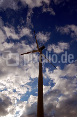 Windrad Blue Sky
