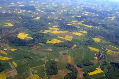 Felder von oben 1