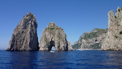 Faraglioni vor Capri