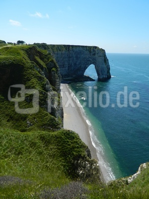 Traumurlaub Normandie - Kreidefelsen Étretat
