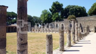 Pompeji Quadriportikus