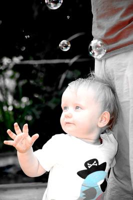die ersten Blasen erleben