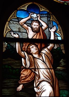 Steinigung des Stephanus 1