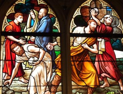 Steinigung des Stephanus 2
