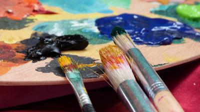 Farben und Palette