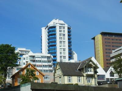 architektonische Vielfalt in Stavanger