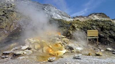Vulkan von Solfatara