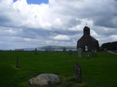 Kirchenruine Wales