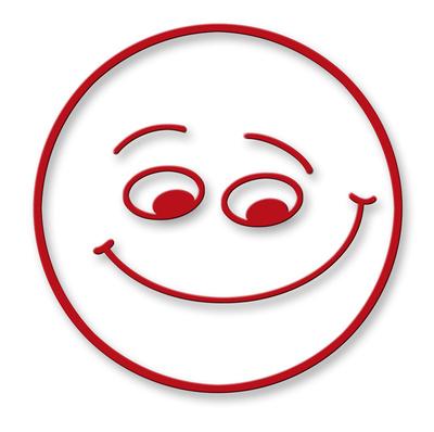 Smiley - fröhlich