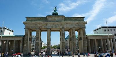 Brandenburger Tor (Rückseite)