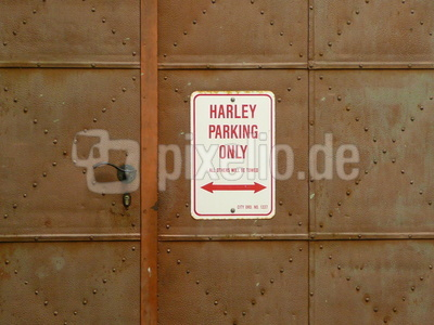 Harley Parking Only