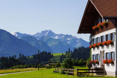 Bilderbuch-Urlaubswelt im Allgäu