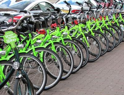 GreenBikes in Amsterdam