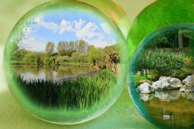 Landschaften hinter Glas