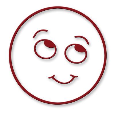 Smiley - freundlich