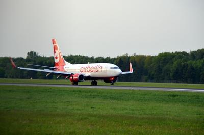 Air Berlin Touchdown