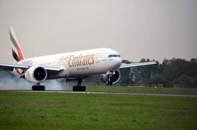 Emirates landing 2