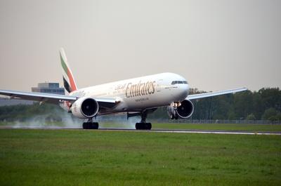 Emirates landing 3