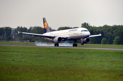 Lufthansa touchdown