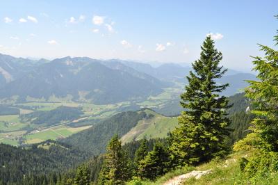 Bayern - Blick vom Wendelstein