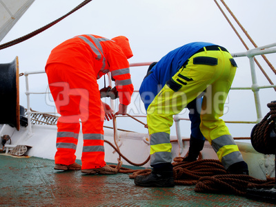Arbeiten auf See