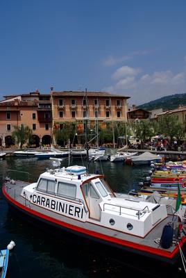 Carabinieri Sicherheit auf dem Gardasee
