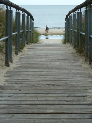 Lass uns zum Strand gehen...