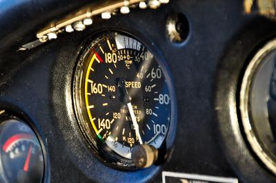 Air Speed Indicator - Geschwindigkeitsmesser Piper 28-180 Cherokee