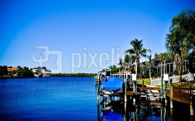 Kanal in Cape Coral