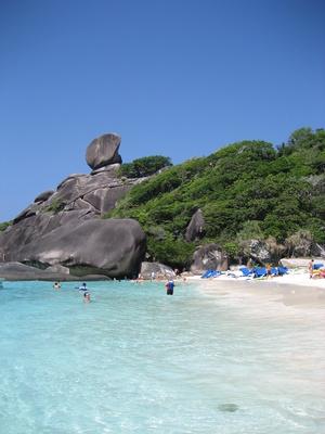 Simlian Inseln, Thailand