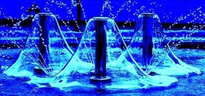 Kalte Wasserglocken