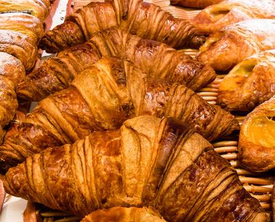 Croissant - Franzosen-Frühstück