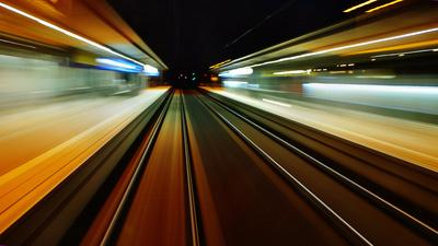 Im Geschwindigkeitsrausch