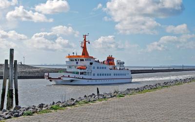 Inselfähre schifft zurück ans Festland