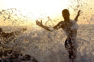 Tanz mit den Wellen