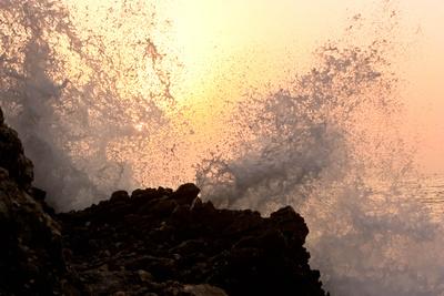 Abendlicher Tanz der Wellen  (2)