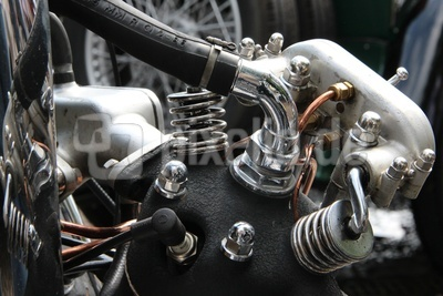 Oldtimer - Detail - Motor