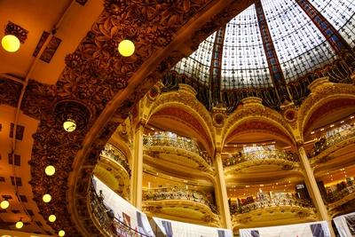 Paris Kuppelsaal Galeries Lafayette_3
