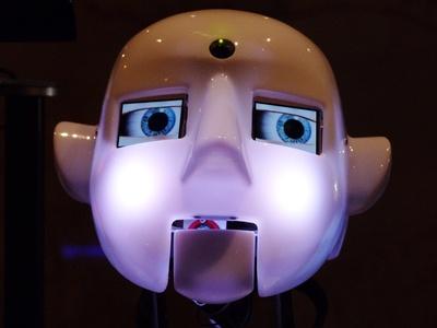 Roboterkopf 2