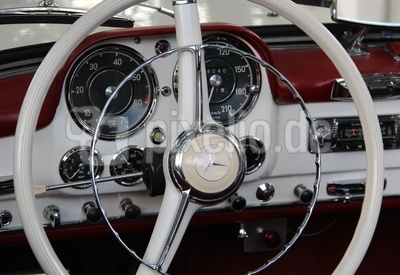 Oldtimer - Detail - Mercedes
