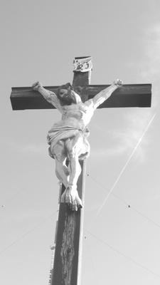 Kruzifix 4 (s/w)