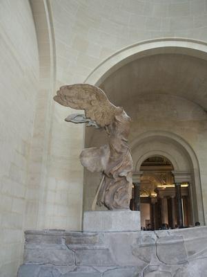 Skulptur der Siegesgöttin Nike