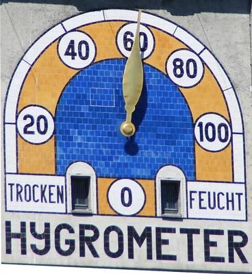 Hygrometer am Deutschen Museum