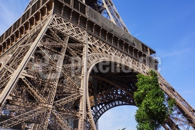 Paris, Eiffelturm Basis